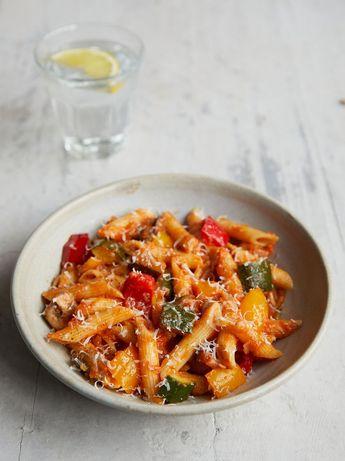 Mixed-veg pasta
