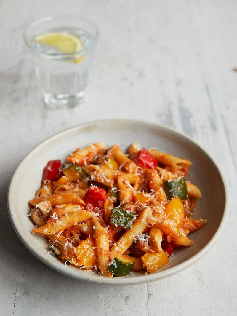 Mixed Veg Pasta Recipes Jamie Oliver