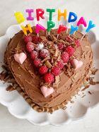 Petal's birthday cake