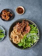 Hoisin duck noodles