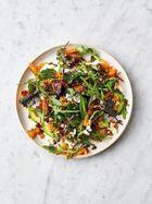 Harissa squash salad