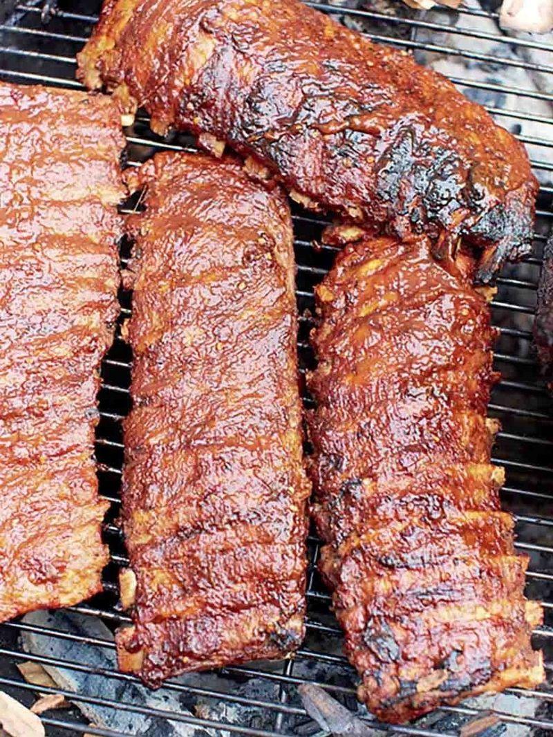 Sticky hoisin ribs