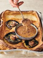 Mushroom toad-in-the-hole