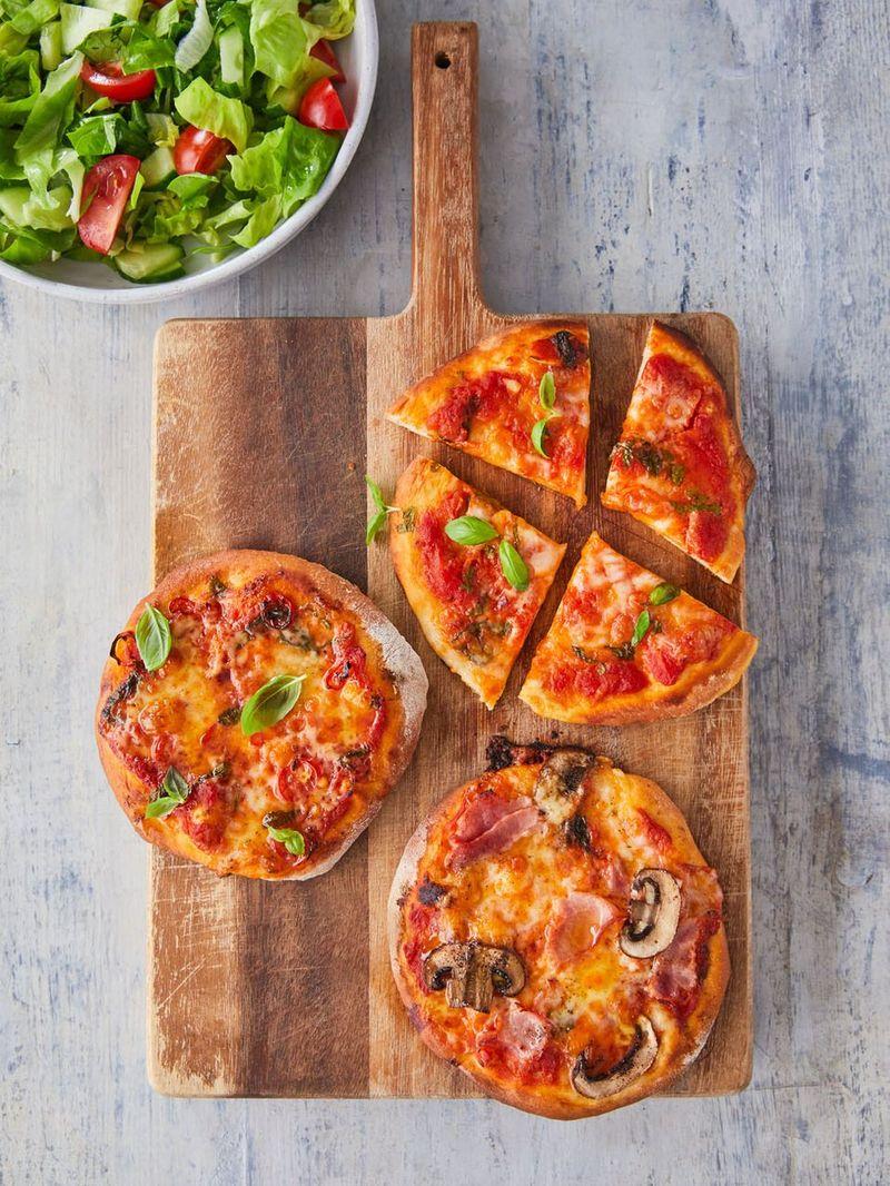 Buddy's quick pizzettas
