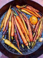 Clementine roasted carrots