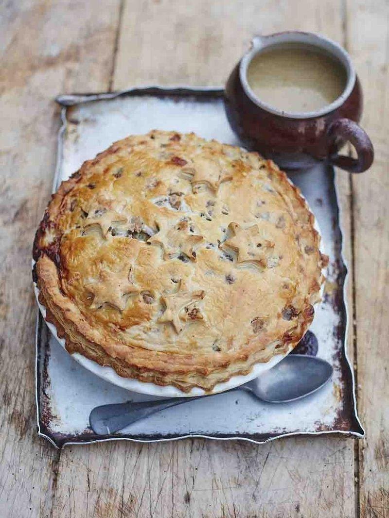 Christmas hodgepodge pie