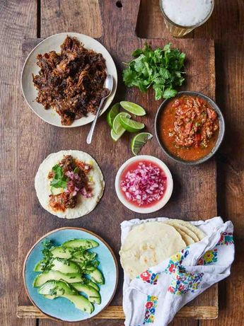 Sam Smith's roasted haggis tacos