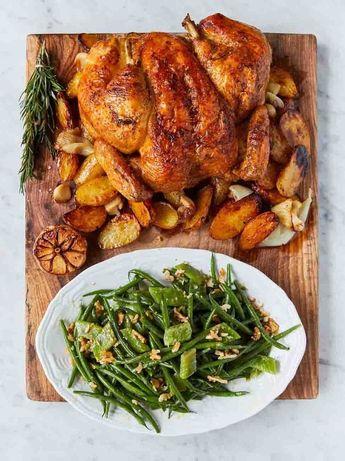 Jack Dee's rotisserie-style chicken