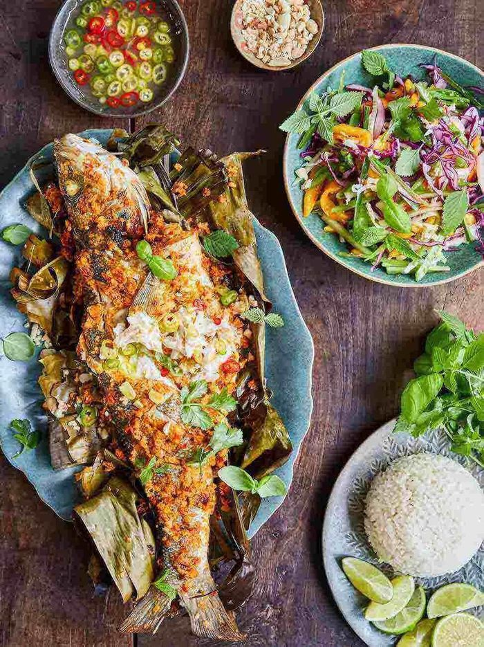 Malaysian-style whole fish
