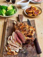 Perfect roast leg of lamb