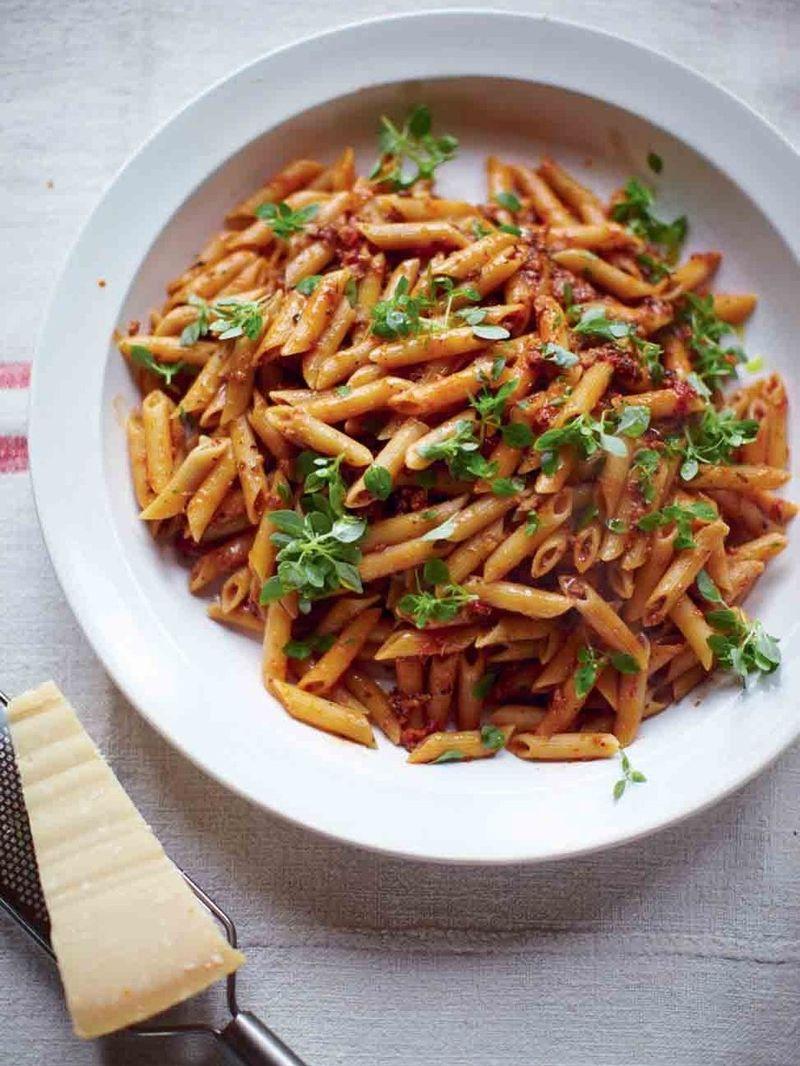 Sausage & fennel pasta