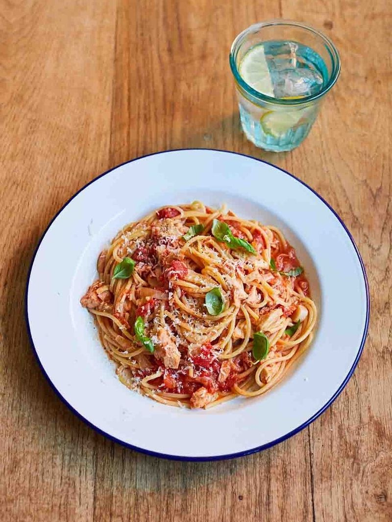 Buddy's tuna pasta