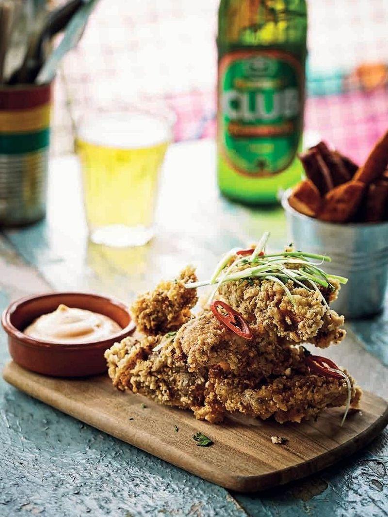 Jollof fried chicken
