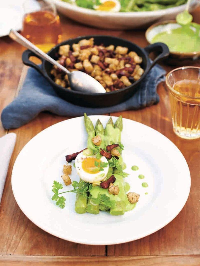 Tender asparagus