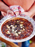 Black beans & cheese