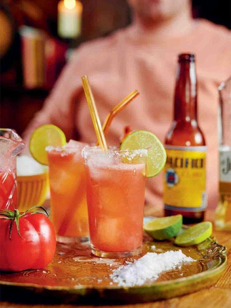 Tequila michelada