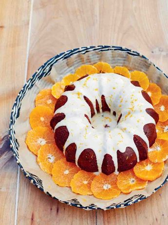 Tangerine dream cake
