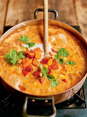 Fragrant squash curry