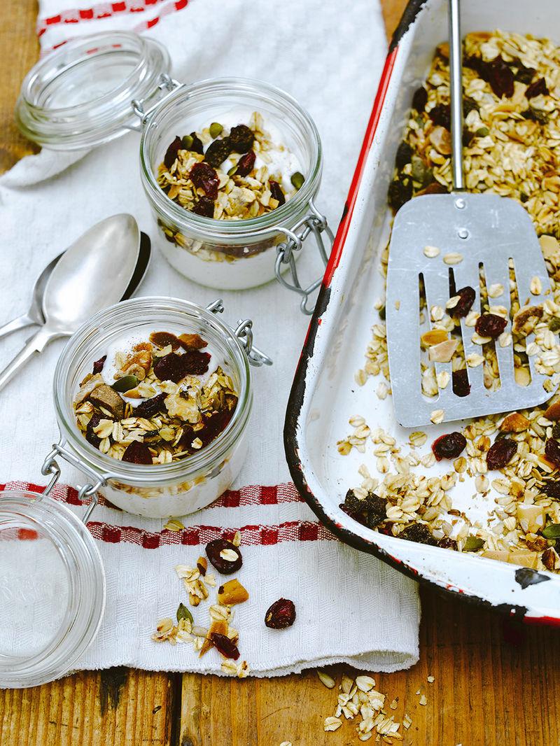 Cranberry Granola Jamie Magazine Recipes