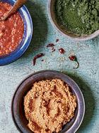 Tomato & garlic chutney