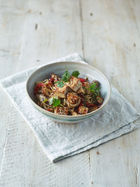 Spicy veggie noodles