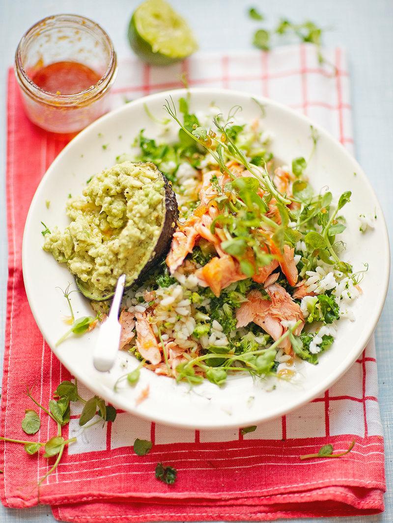 Simple sushi salad