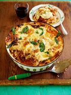 Incredible leftover lasagne