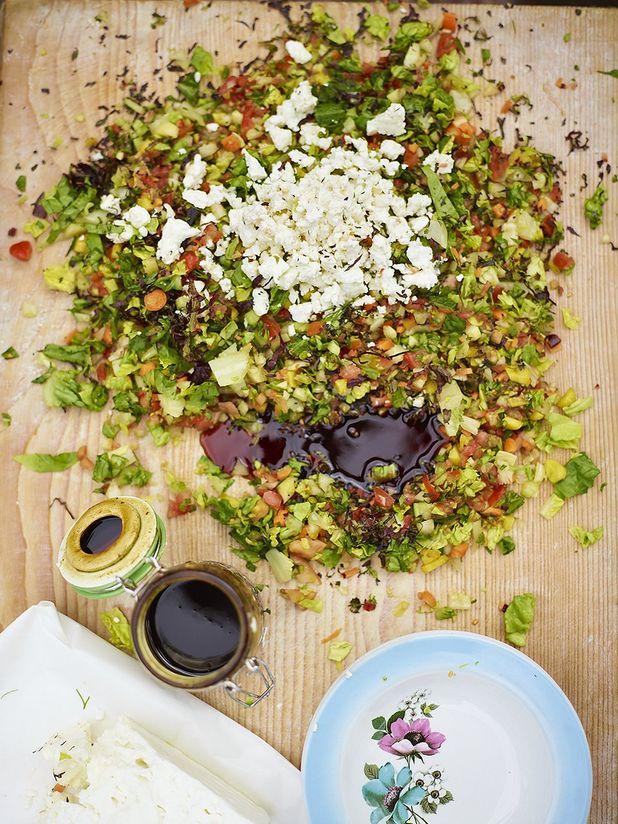 Jools' chopped salad