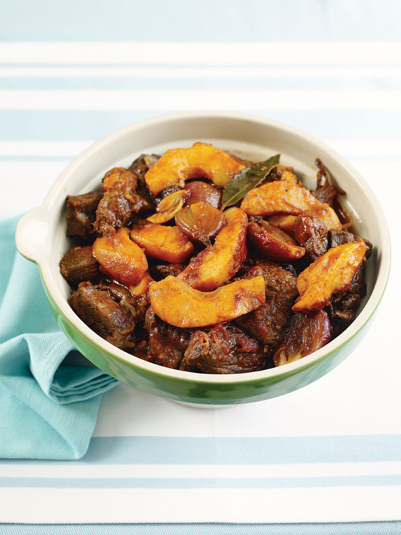 Beef Quince Stew Beef Recipes Jamie Oliver