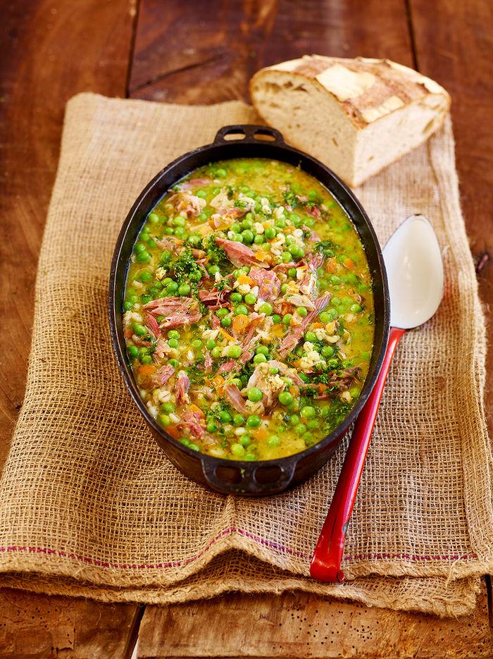 Ham & peas
