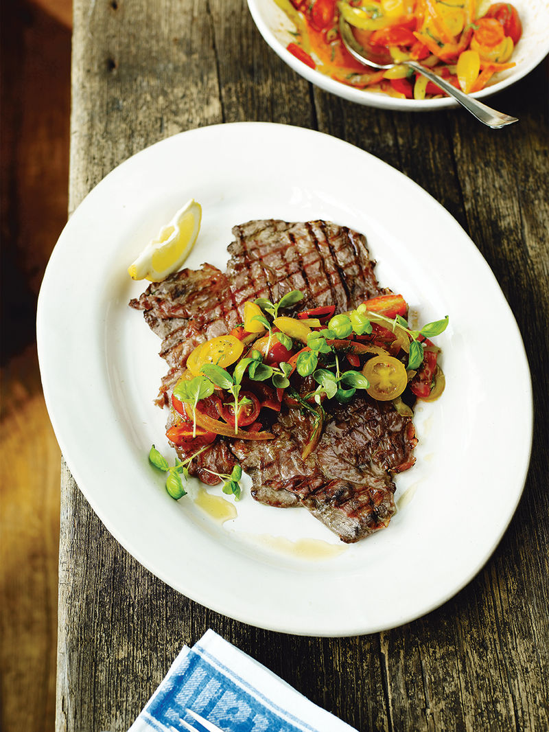 Jamie S Flash Steak Beef Recipes Jamie Oliver Recipes