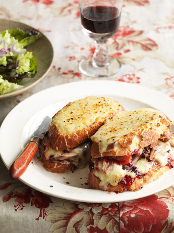 Turkey croque-monsieur