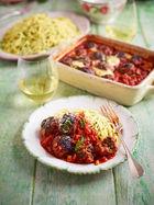 Sicilian Meatballs Al Forno