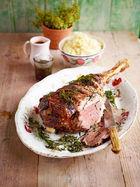 Leg of lamb with amazing gravy