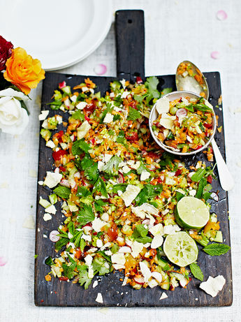 Indian chopped salad