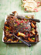 Persian-style Shoulder of Lamb Traybake