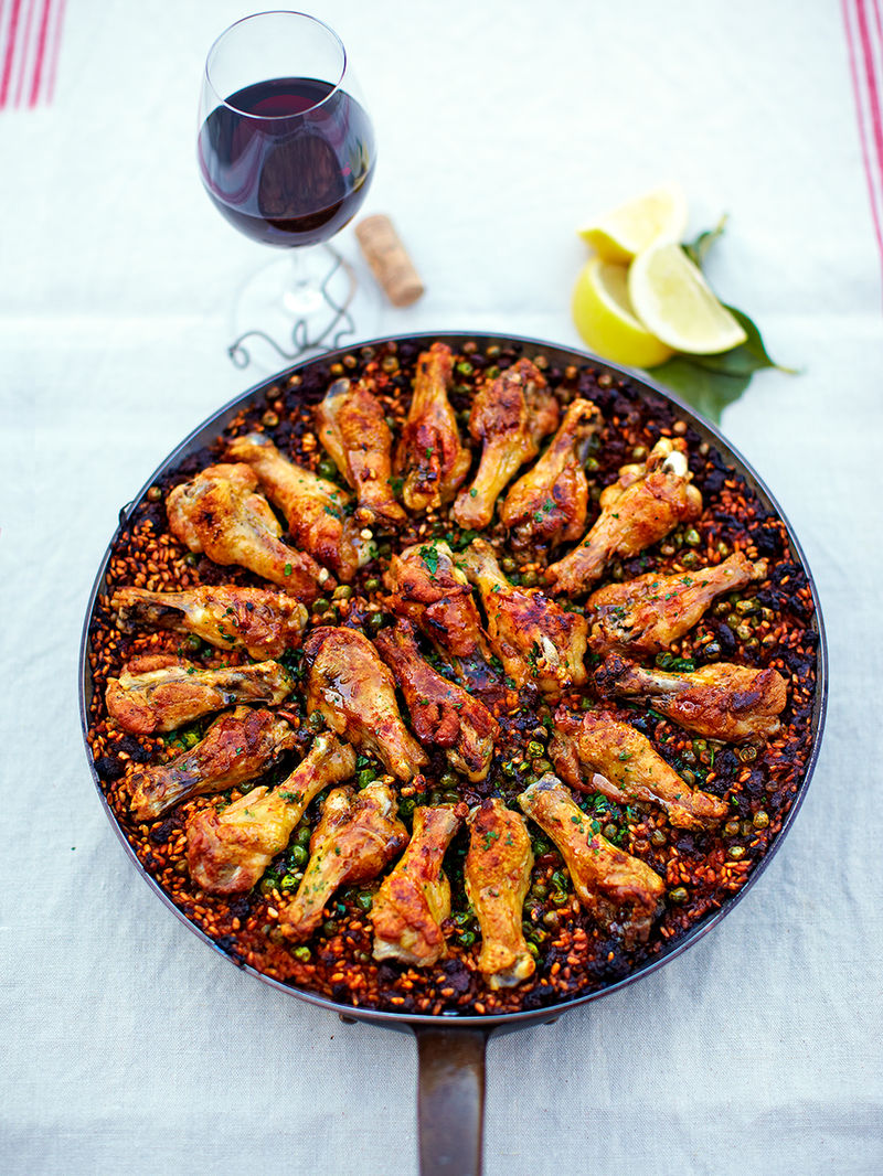 Chicken 'paella'