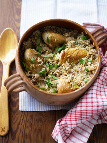 All-in-one rice & chicken