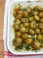 Jersey royals & wild garlic