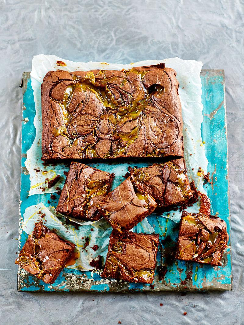 Salted Caramel Brownies Jamie Oliver