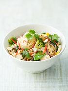 Veggie noodle stir-fry