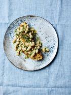 Garlic & chilli baked beans