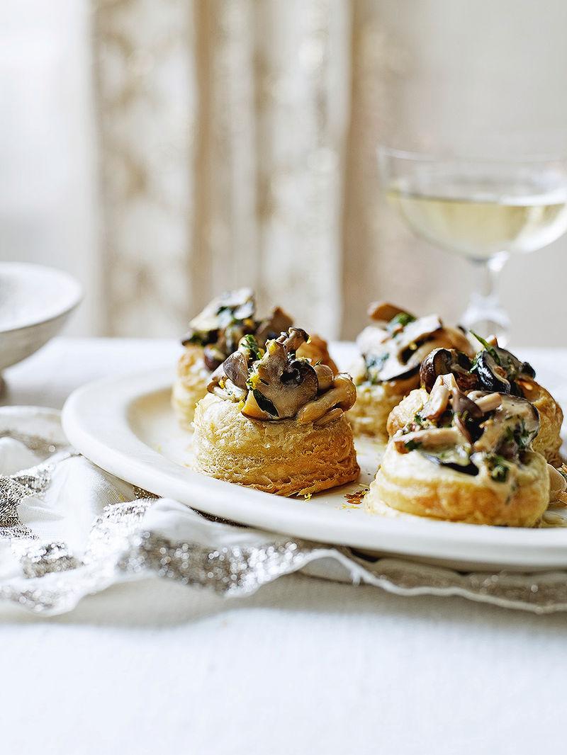 Mushroom Vol Au Vent Jamie Oliver Mushroom Recipes