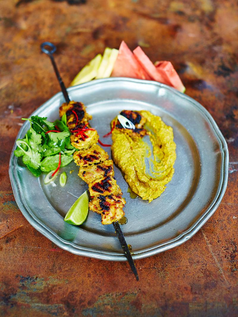 Chicken Satay Recipe Jamie Oliver Recipes