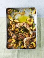 Mediterranean 'chicken 'n' chips'