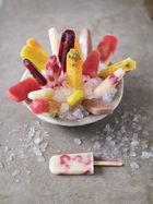Fruit ice lollies