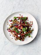 Carrot & grain salad