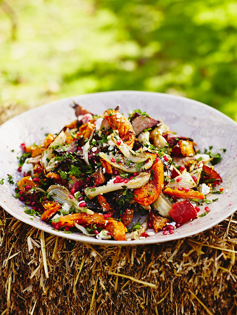 Harvest Salad Vegetables Recipes Jamie Oliver
