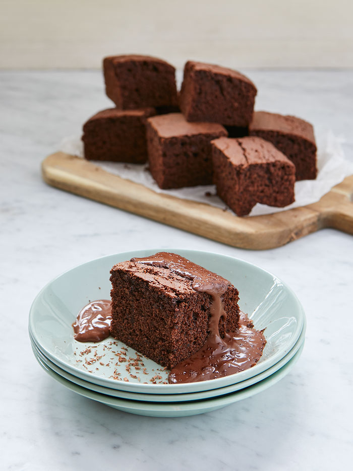Sehrish's old-school chocolate cake