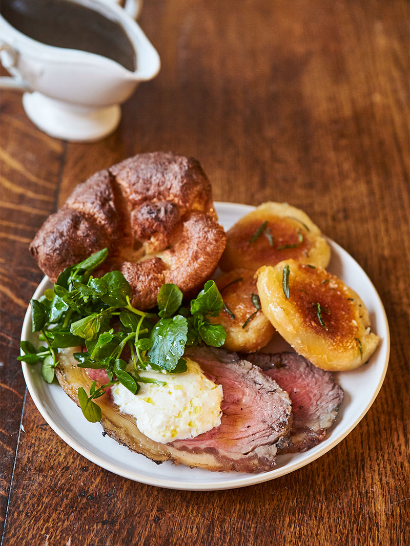 Mark Hamill's roast sirloin & Yorkshire puddings